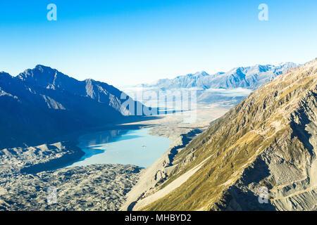 Mount Cook, Neuseeland. Toller Ort. - Stockfoto