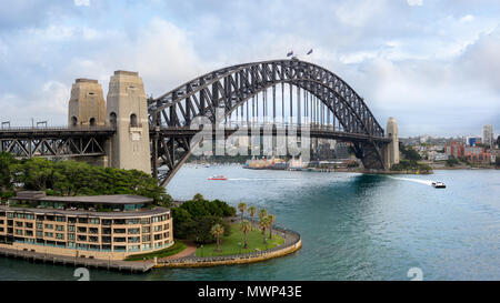 Sydney Harbour Bridge (152 MP, extrem hohe Auflösung) - Stockfoto