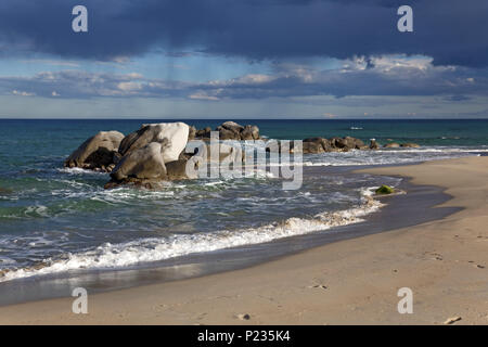 Italien, Sardinien, Ostküste, Provinz Ogliastra, Tortoli, Lido di Orri, - Stockfoto