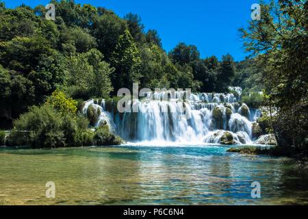 Krka Nationalpark Kroatien - Stockfoto