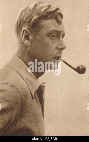 """Urlaub in Dalmatien"""", Feb 1936 (1937). König Edward VIII. Urlaub in Dalmatien. Von Krönung Souvenir Buch 1937, Bearbeitet von Gordon Beckles. - Stockfoto"""