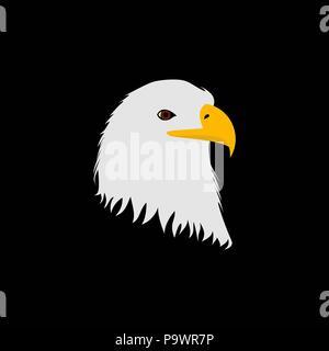 Eagle head Vector - Stockfoto