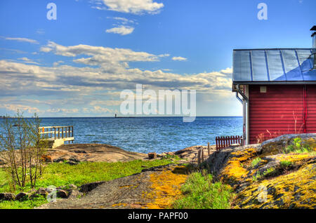 Helsinki Archipel - Stockfoto