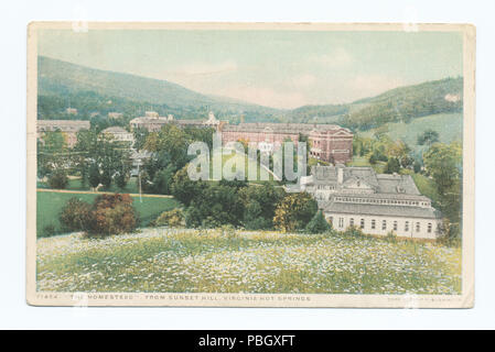1644 Das Gehöft von Sunset Hill, Virginia Hot Springs, Va (Nypl b 12647398-74283) - Stockfoto