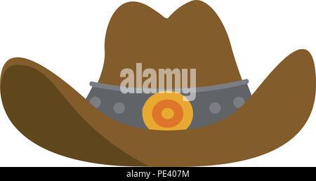 Cowboyhut Symbol - Stockfoto
