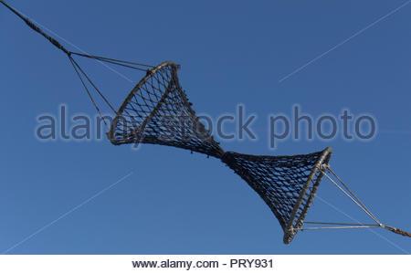 Auf Fischerbooten Portsmouth Fisch Dock England Detail - Stockfoto