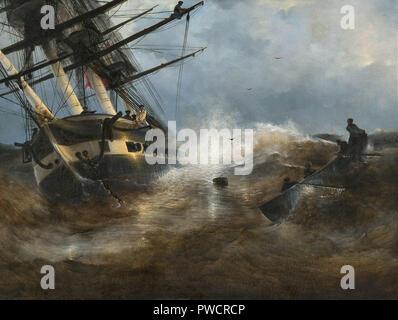 John Constable Ivan Constantinovich-Fregatte 'Aurora' - Stockfoto
