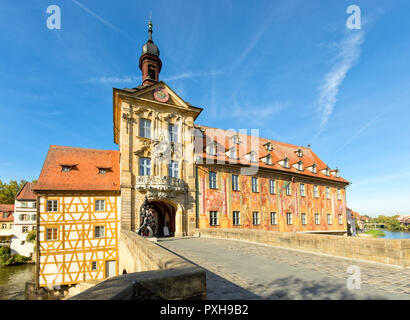 Bamberg, Bayern, Deutschland - Altes Rathaus (Altes Rathaus) - Stockfoto