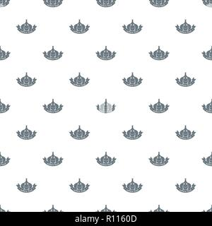 Knoblauch Muster nahtlose Vektor - Stockfoto