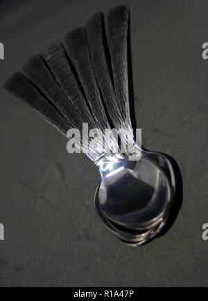 Löffel Muster - Stockfoto
