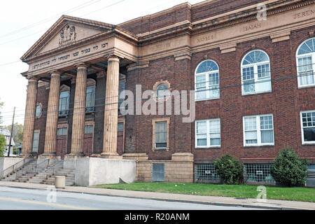 Cory Evangelisch-methodistische Kirche in der Glenville Nachbarschaft von Cleveland, Ohio ist der einzige Ort, an dem Martin Luther King und Malcolm X, und beide Reden gab. - Stockfoto