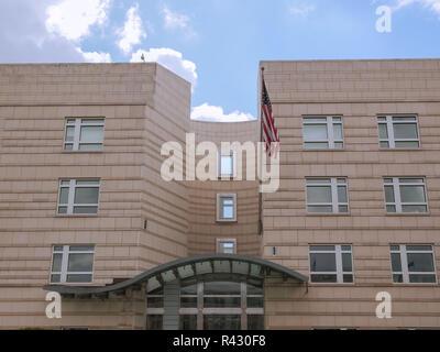 Amerikanischen Botschaft in Berlin - Stockfoto