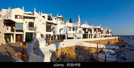 Binibeca Vell, Menorca, Balearen, Spanien - Stockfoto
