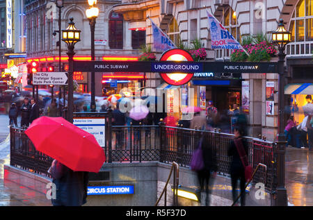 Großbritannien, England, London, Piccadilly Circus - Stockfoto