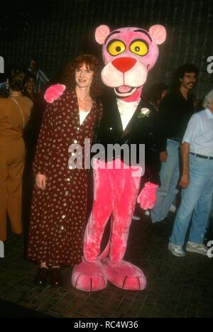 """WESTWOOD, CA - 26. August: Schauspielerin Jamie Rose nimmt """"der Sohn der Pink Panther' Premiere am 26 August, 1993 t Avco Center Kinos in Westwood, Kalifornien. Foto von Barry King/Alamy Stock Foto - Stockfoto"""