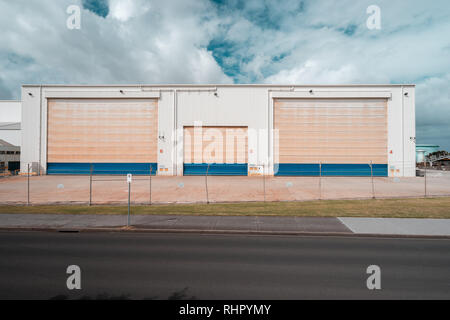 Williamstown, Melbourne, Australien - Industrie Lager - Stockfoto