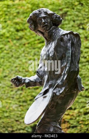 ''' Claude Lorrain-Legion von Honor-San Francisco''. Skulptur von Auguste Rodin. Das Rodin Museum. Paris. Frankreich - Stockfoto