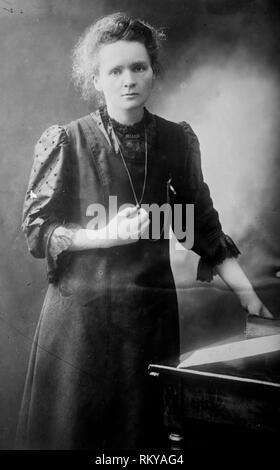 Marie Curie Porträt, 1900 - Stockfoto