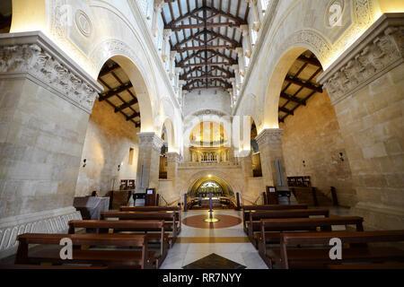 Die Kirche der Verklärung ist ein Franziskaner Kirche auf dem Berg Tabor in Israel. - Stockfoto