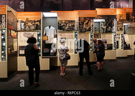 National Civil Rights Museum Memphis Tennessee - Stockfoto