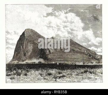 Der Felsen von Gibraltar - Stockfoto