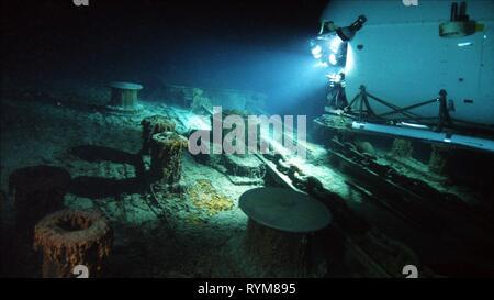 Versunkenen TITANIC, Geister des Abgrunds, 2003 - Stockfoto