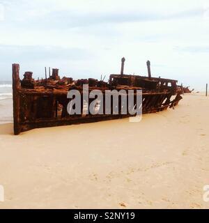 Schiffbruch erlitten - Stockfoto