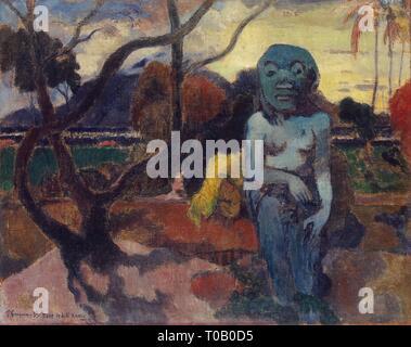 "'Rave te Hiti aamu (das Idol)"". Frankreich, 1898. Abmessungen: 73,5 x 92 cm. Museum: Staatliche Eremitage, St. Petersburg. Autor: Paul Gauguin. PAUL GAUGUIN. Eugéne Henri Paul Gauguin. - Stockfoto"