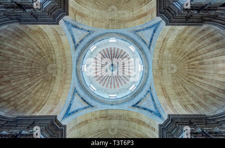 Verzierte Decken in den nationalen Pantheon, Lissabon, Lissabon, Portugal - Stockfoto