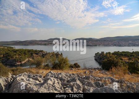 Kanal des Hl. Antonius in Sibenik in Kroatien. - Stockfoto
