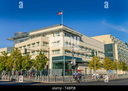 Beschaffenheit der Vereinigten Staaten von Amerika, Ebertstraße, Mitte, Berlin, Deutschland - Stockfoto