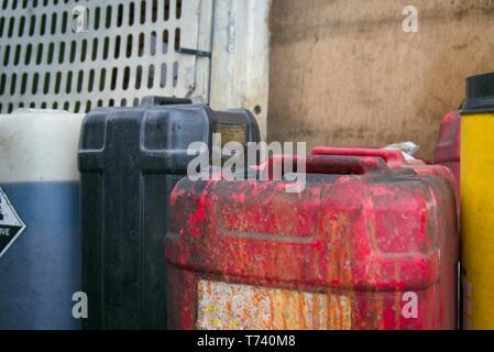 Gefährliche Abfälle - Stockfoto