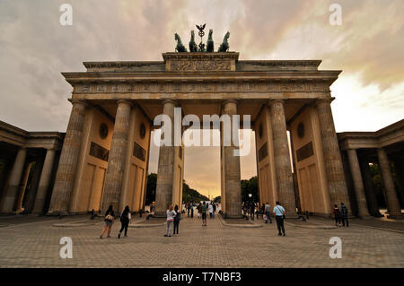 Brandenburger Tor, Berlin, Deutschland - Stockfoto