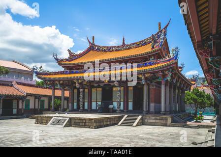 Konfuzius Tempel in dalongdong Taipei, Taipei - Stockfoto