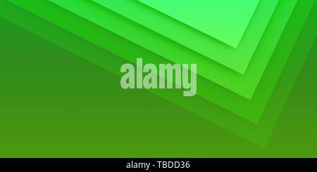 Schönen grünen Abstrakt Hintergrund in Form von Quadraten - Stockfoto