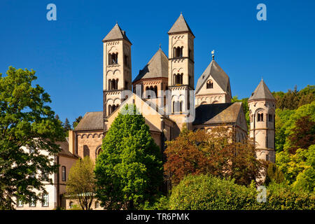 Abtei Maria Laach, Deutschland, Rheinland-Pfalz, Eifel, Glees - Stockfoto