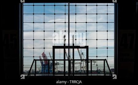 Architektur Hafencity und Halzhafen - Stockfoto