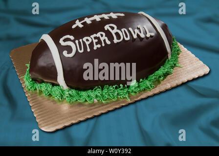 Fußball-Kuchen - Stockfoto