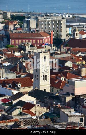 Anzeigen von Šibenik, Kroatien, Europa - Stockfoto