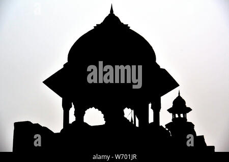 Lahori Tor, Red Fort, Delhi, Indien, Asien - Stockfoto