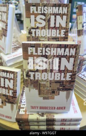 Barnes & Noble Buchhändler Buch Anzeige, NYC, USA - Stockfoto