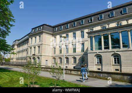 Landtag Niedersachsen, Leineschloss, Hannah-Arendt-Platz, Hannover, Niedersachsen, Deutschland - Stockfoto