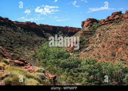 Kings Canyon im Watarrka National Park, Northern Territory, Australien, Outback - Stockfoto
