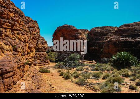 Kings Canyon im Watarrka National Park, Northern Territory, Australien, Outback - Stockfoto