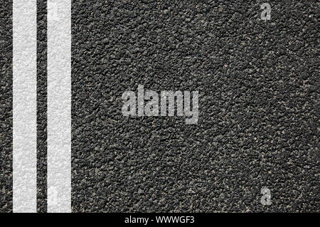 Straße Straße oder Asphalt Textur mit Linien - Stockfoto