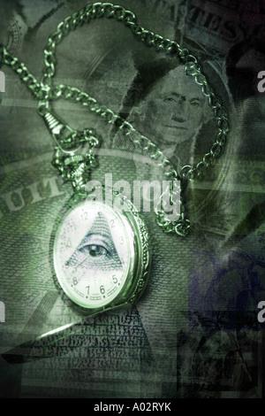 Zeit und Geld-Konzept - Stockfoto