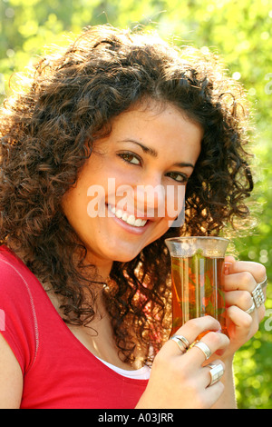 Aufguss trinken - Stockfoto