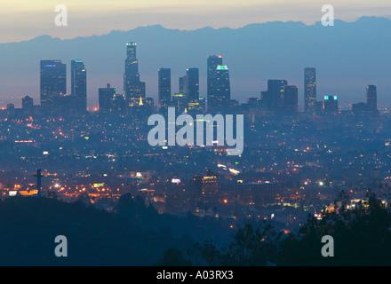Innenstadt von Hollywood Bowl übersehen, Los Angeles, Kalifornien, USA - Stockfoto
