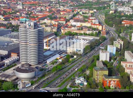 BMW Gebäude, München, Bayern, Deutschland - Stockfoto