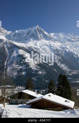 Chamonix, Haute Savoie, Frankreich - Stockfoto